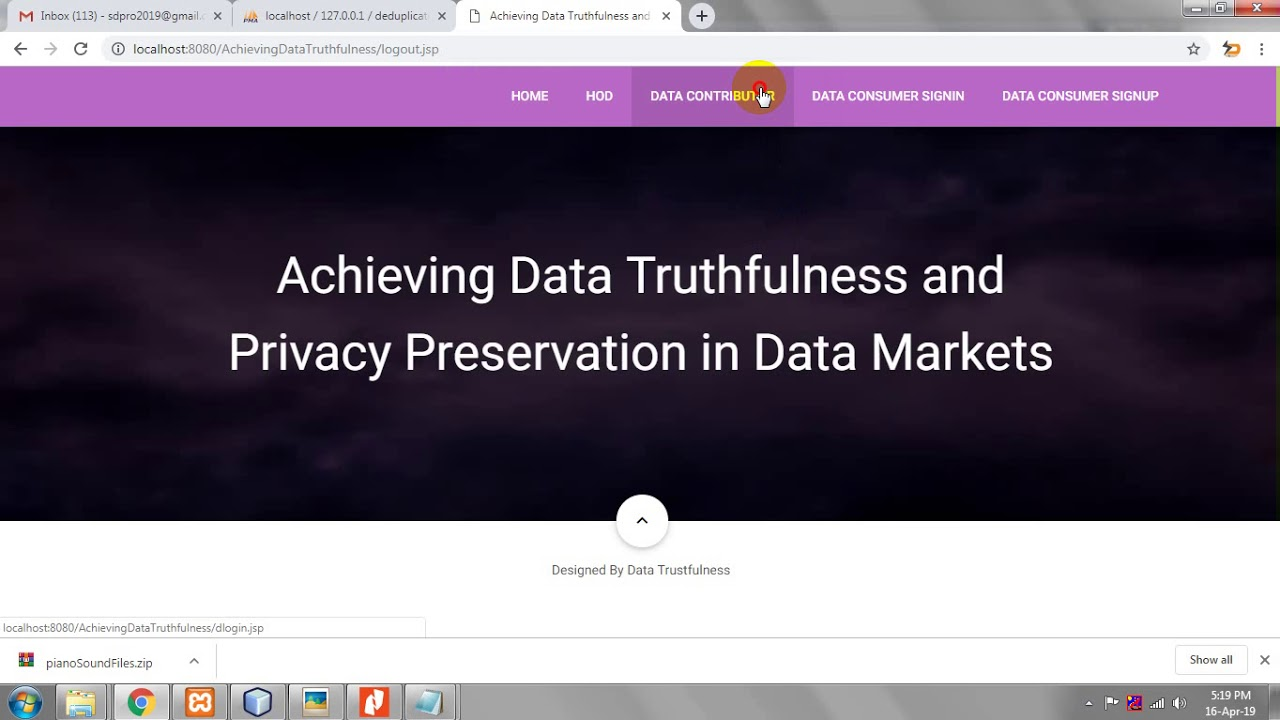 Best Phone For Privacy 2020 Achieving Data Truthfulness and Privacy Preservation in Data