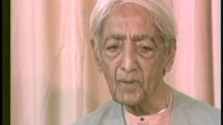 J. Krishnamurti - Rishi Valley 1985 - Discus. with Students 2 - Thinking about myself all day long