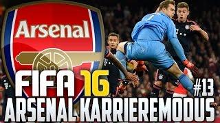 FIFA 16 KARRIEREMODUS #13 - SCHON WIEDER DIE BAYERN - FIFA 16 Karriere ARSENAL