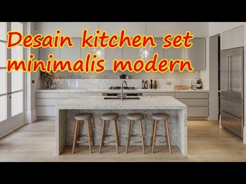 Desain Harga Kitchen Set Minimalis Modern Murah Dan Berkualitas