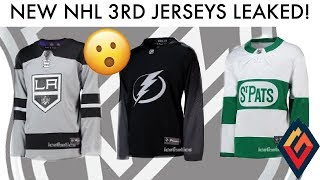 NEW Maple Leafs, Kings, Lightning 3rd Jerseys LEAKED! - NHL Jersey Review
