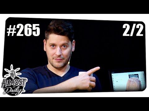 [2/2] Almost Daily Live #265 | Fragen aus der Community | 27.11.2016