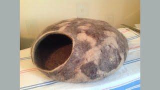 самый теплый дом для кошки,часть1