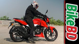 TVS Apache RTR 160 4V - Racing DNA Unleashed In Bangladesh