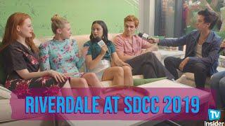 The cast of Riverdale Talk Season 4 at Comic-Con 2019 | TV Insider