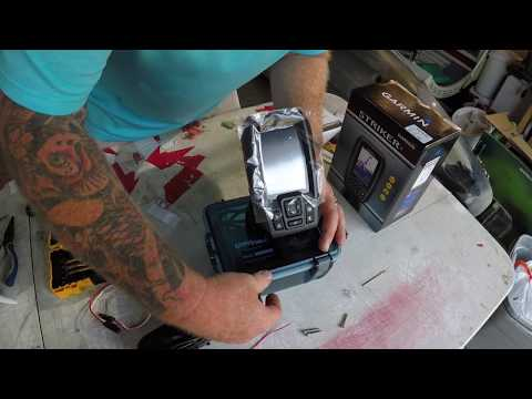 How To Mount A Fishfinder On A Jackson Big Tuna With No Holes In The Kayak!!