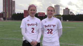 Women's Soccer Postgame Interview & Highlights From 4-0 Win Over Coast Guard!