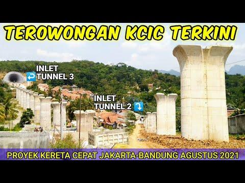 This Is Indonesia - Proyek Kereta Cepat Jakarta Bandung Terowongan KCIC 2021