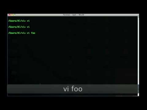 how to open a text file in vim