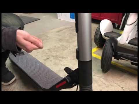 Segway Ninebot ES2 ES4 How to lubricate front fork ⚡🛴🚀 U