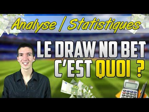 [Paris Sportifs] Qu'est-ce que le DRAW NO BET ?