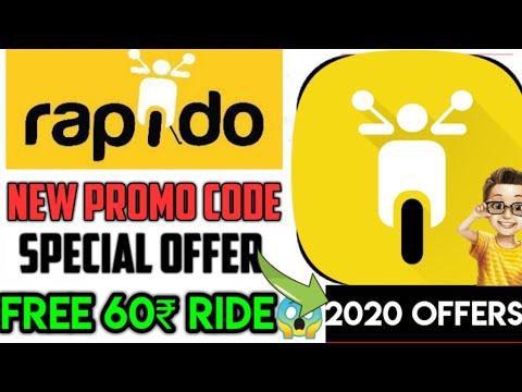 Rapido New Promo Code | Rapido Promo Code | Rapido August Promo Code | Rapido August 2020 Promo Code