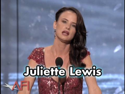 Juliette Lewis Salutes Robert De Niro at AFI Life Achievement Award