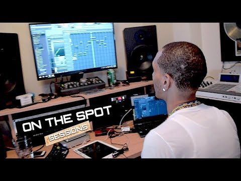 Papoose Producer Makes a Beat ON THE SPOT - Chyno On Da Beat ft E Burna