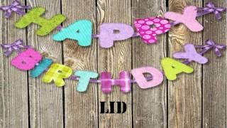 Lid   Birthday Wishes