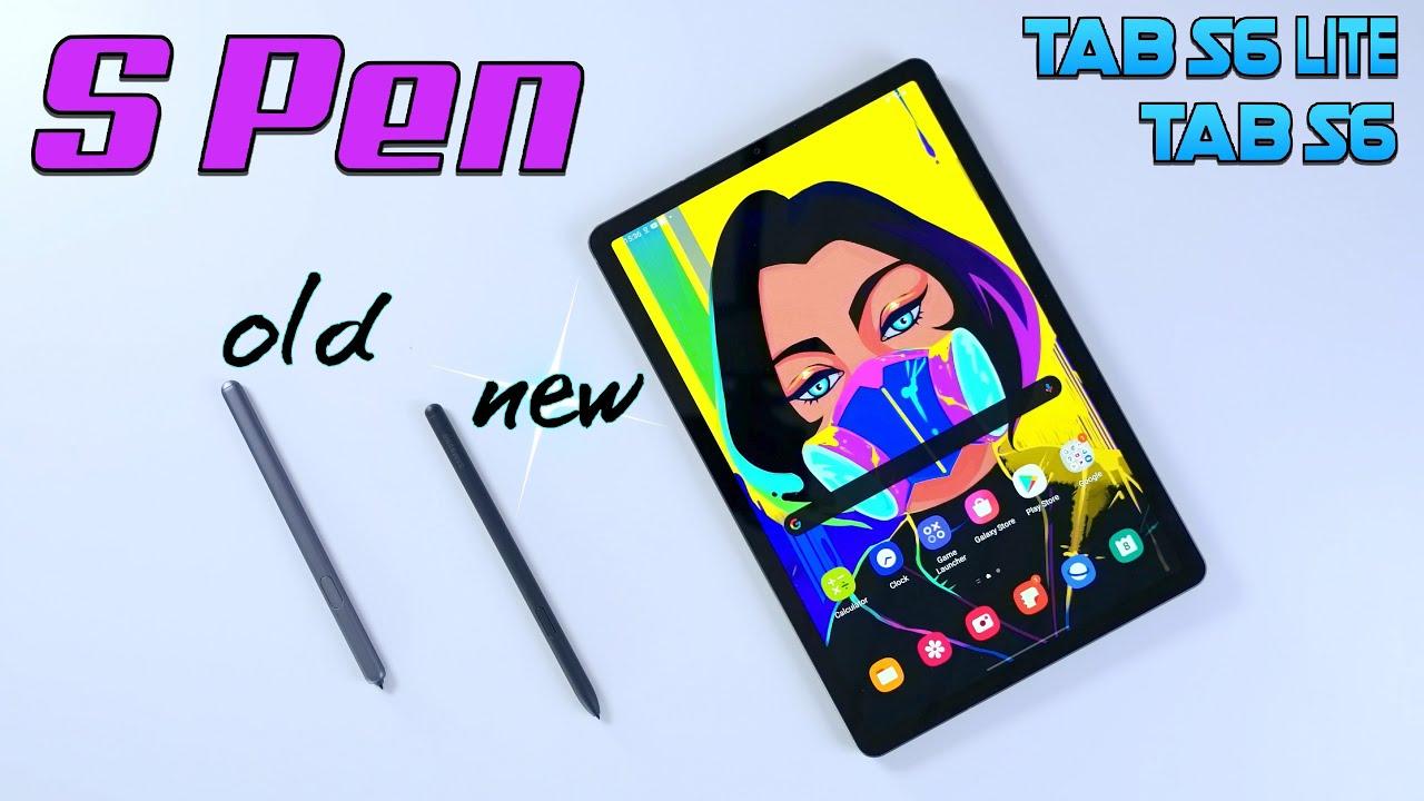 Tab S6 Lite vs Tab S6 - Is the new S Pen better?