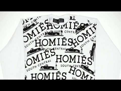Homies White-Black Graffiti Sweatshirt - Fashion @ TheStore.com
