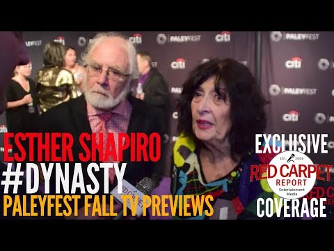 Esther & Richard Shapiro, Creator Dynasty interview at The CW series Dynasty preview