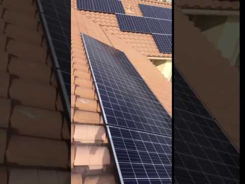 Los Angeles County Solar Install
