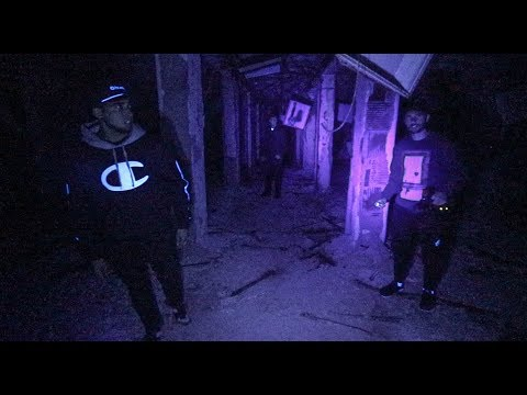 OVERNIGHT IN USA's LARGEST ABANDONED CITY! (Police Catch Us)