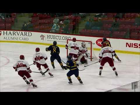 Recap: Harvard Men's Ice Hockey vs. Quinnipiac