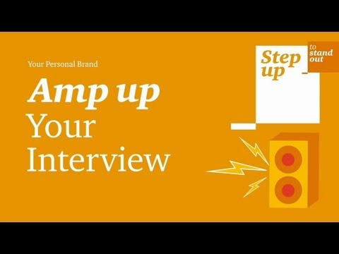 Amp Up Your Interview