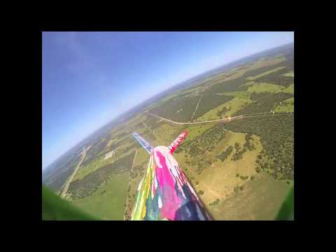 Krueger middle school  rocket launch may 1st 2015 with go pro mounted to the side