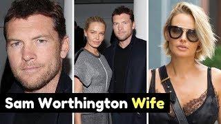 Actor Sam Worthington Wife Lara Bingle Photos (m. 2014)