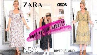 HUGE SHOPPING HAUL TRY ON!! ASOS, RIVER ISLAND, ZARA...