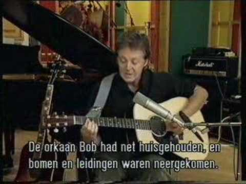 1997 McCartney Making of Flaming Pie Part 1/4