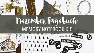 Dezember Tagebuch | Memory Notebook Kit