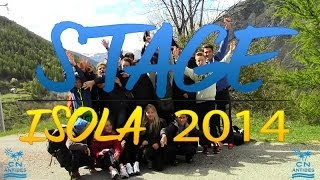 CN Antibes - Stage Isola 2014 - Section sportive