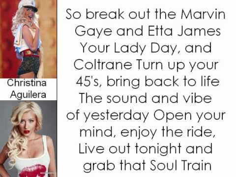 Christina Aguilera - Back In The Day (Lyrics On Screen)