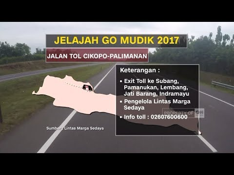 Ini Dia, Tol Terpanjang di Indonesia, Waspada Jalur Lurus Tol Cipali - Go Mudik 2017