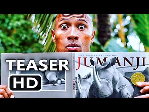 Thumbnail: JUMANJI 2 Trailer Tease (Dwayne Johnson, Jack Black, Kevin Hart) Comedy Movie HD