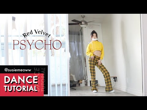 Red Velvet(레드벨벳) 'Psycho' Full Dance Tutorial (Counting + Slow Music)