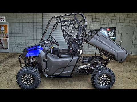 2017 Honda Pioneer 700 Deluxe Walk-Around Video | Diver Blue | Review @ HondaProKevin.com
