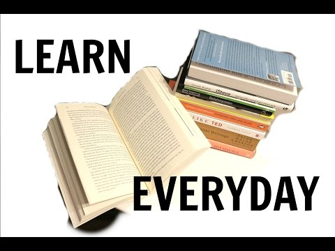 How To Learn 1 New Thing Every Day