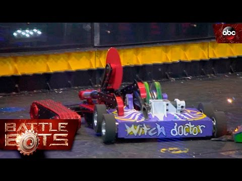 Witch Doctor Vs. Red Devil - BattleBots