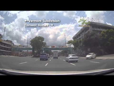 Drive Trip!! Philippines - Going to Marcos Highway - Antipolo