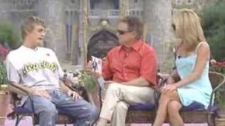 Aaron Carter: Interview Live on Regis and Kelly