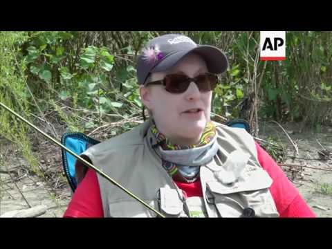 Breast Cancer Patients And Survivors Find Solace In Fly Fishing