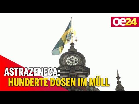 Schweden: Hunderte Dosen AstraZeneca landen im Müll