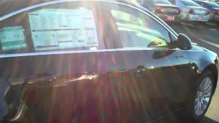 2011 Buick Regal CXL Black Art Gamblin Motors 11143