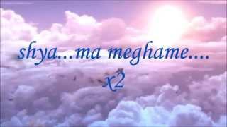Shyaama Meghame lyrics from Oru Indian Pranaya Kadha by Jithin Krishna