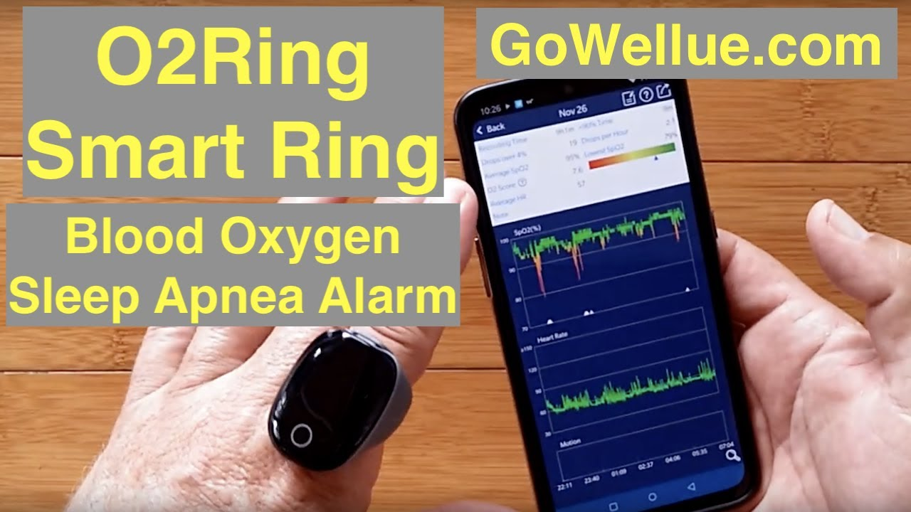 Wearable Smart Monitoring APP Sleep Ring Recording Blood Oxygen Heart Rate Ring