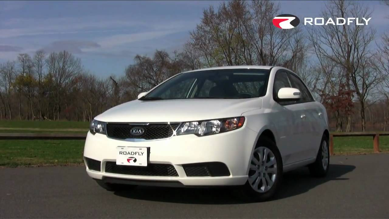 Roadfly.com   2010 Kia Forte Road Test And Review   YouTube