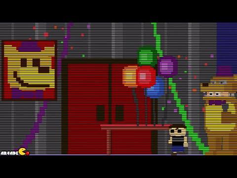 Five Nights at Freddy's 4: NIGHT 2 MINI GAME WALKTHROUGH FNAF 4