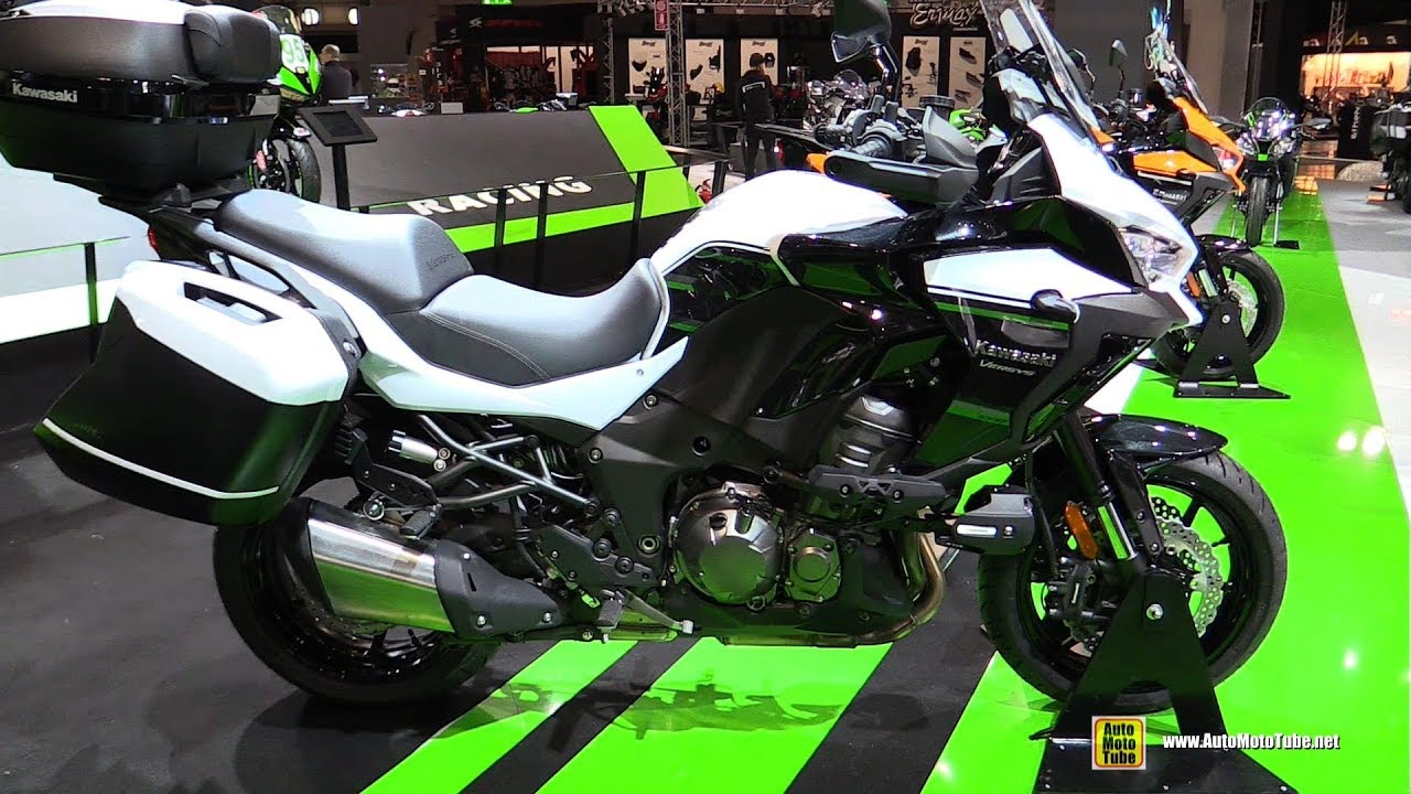 2019 kawasaki versys 1000 walkaround debut at 2018 eicma milan youtube. Black Bedroom Furniture Sets. Home Design Ideas