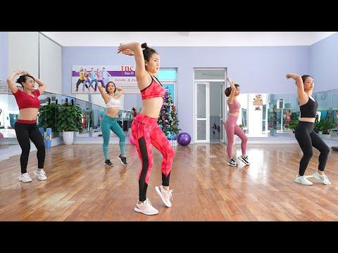 AEROBIC CƠ BẢN CHO NGƯỜI MỚI BẮT ĐẦU - Tập toàn thân giảm cân cực nhanh | Inc Dance Fit
